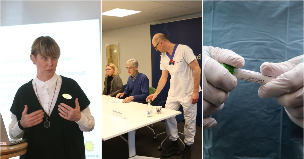 TV: Se presskonferensen om coronaviruset i Värmland i efterhand