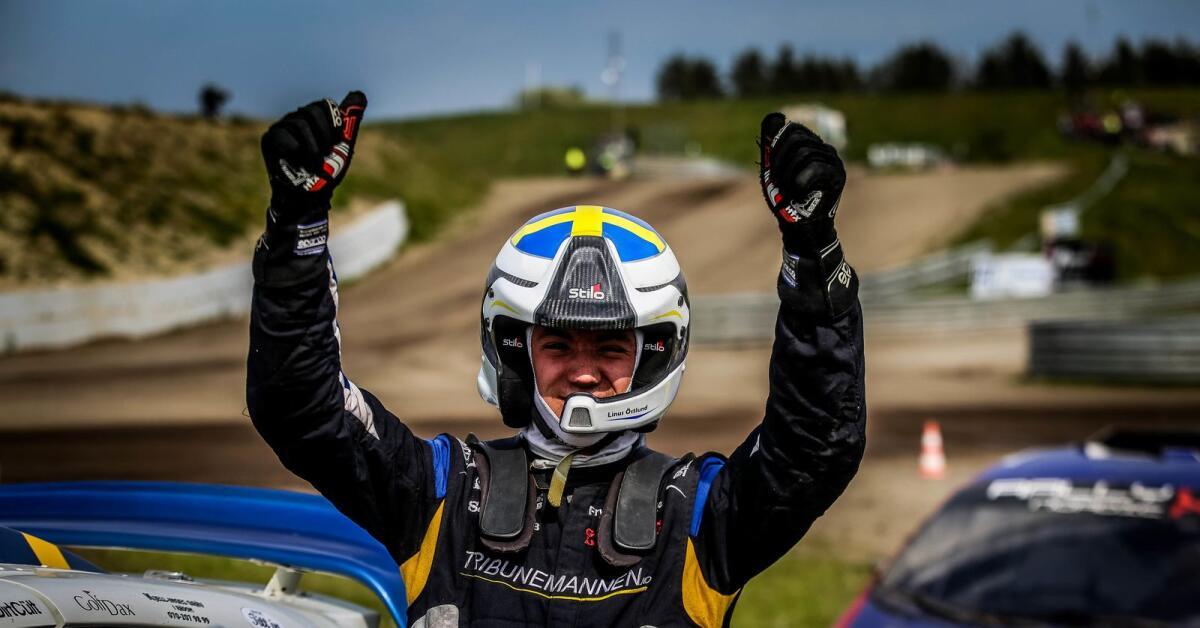 Östlund siktar på seger i RallyX Nordic