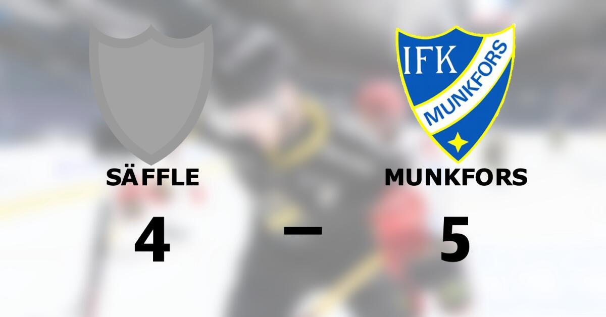 Uddamålsseger när Munkfors besegrade Säffle