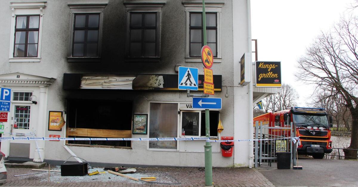Trio döms till fängelse för branden i Kungsgrillen