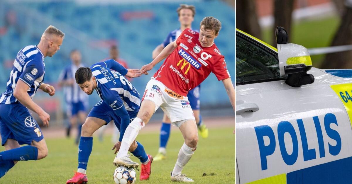 """Par tittade på fotboll – fick polisbesök: """"De hade fått orosanmälan om bråk"""""""