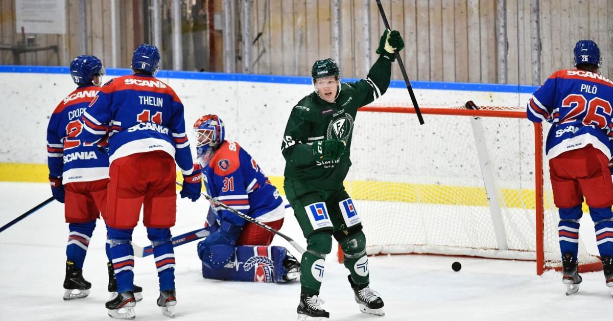 Första segern för Färjestad – vände och vann mot Oskarshamn