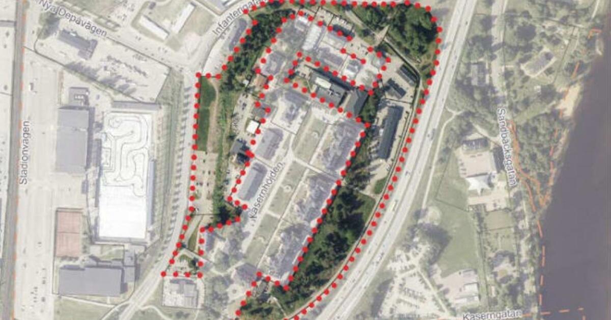 Planer för 400 bostäder, idrottshall och kontor