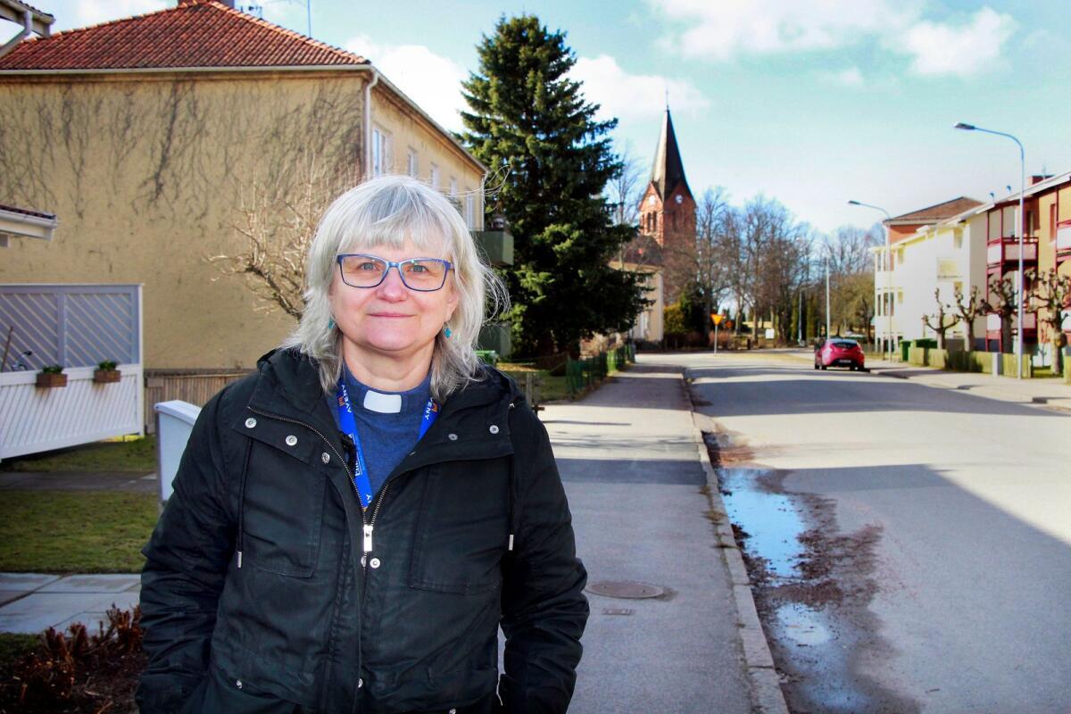 Caroline Andersson, 33 r i Hova p Vibylundsvgen 14