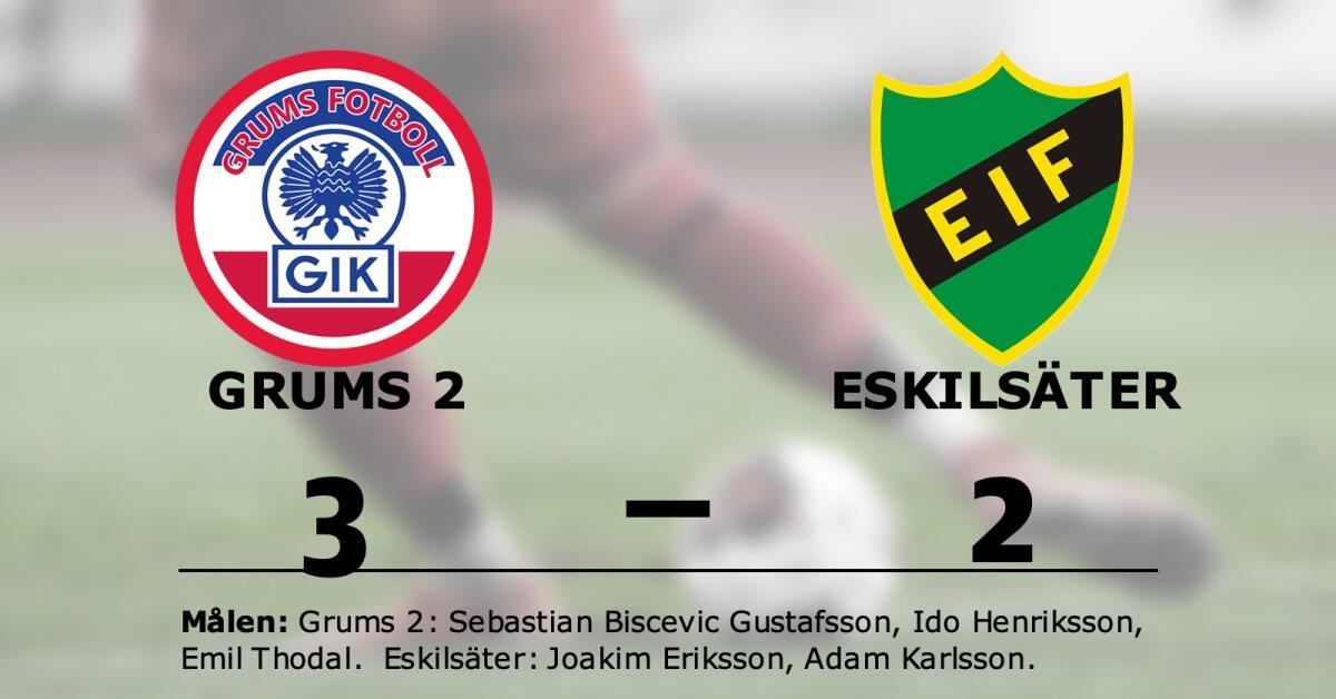 Joakim Eriksson och Adam Karlsson målskyttar när Eskilsäter förlorade