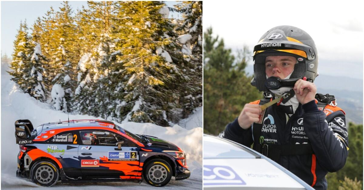 Solberg inte uttagen i WRC2 på Sardinien – kan bli ny WRC-start