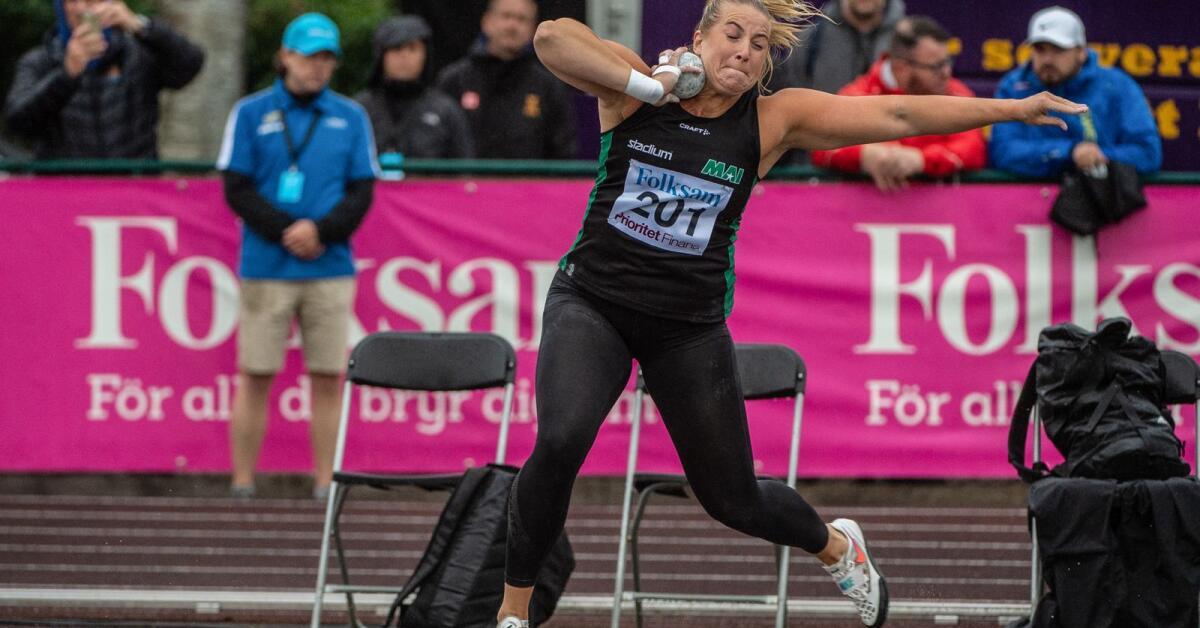 Fanny Roos visade OS-form – slog stadionrekordet