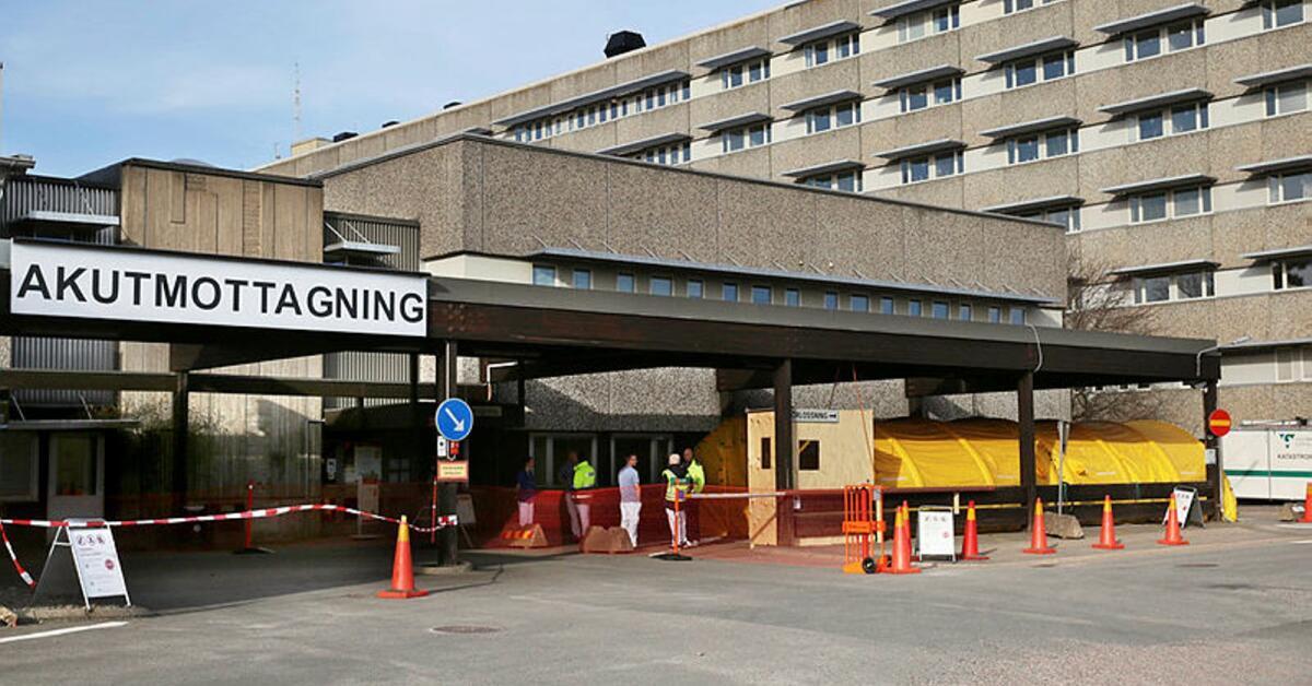 Fem färre inlagda på Skaraborgs sjukhus