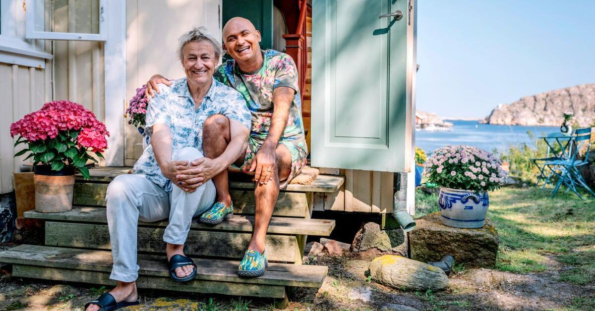 Sommar, sol och Lars Lerin – så lyser han upp november