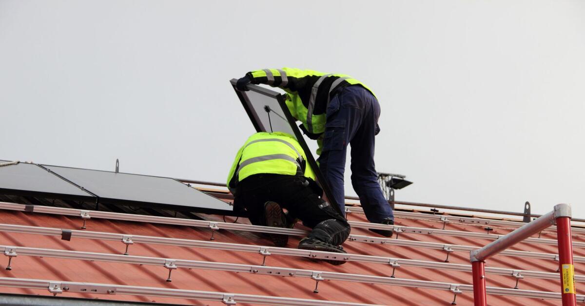 Rekord för solceller i Örebro län