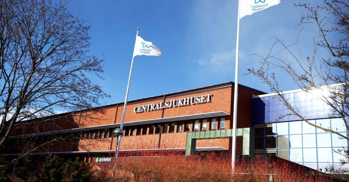 Två fall av covid 19 från annat län vårdas i Karlstad
