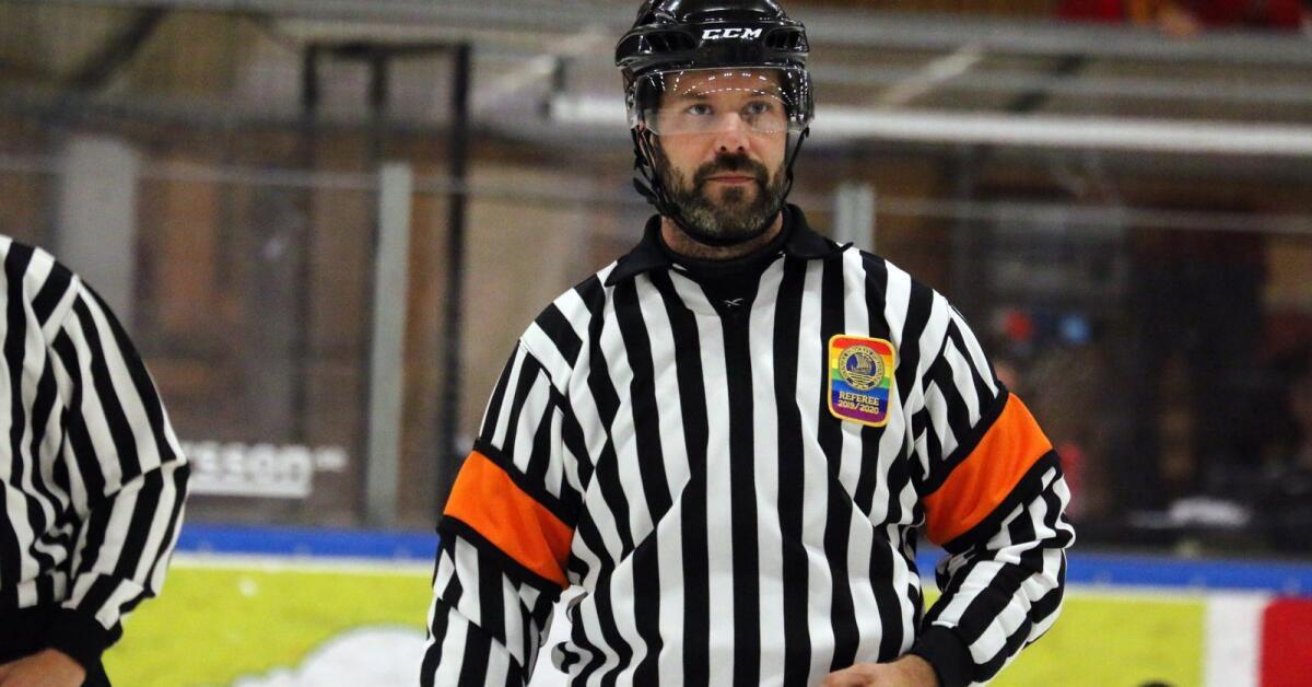 Daniel Wessner dömer hockeyallsvenskan