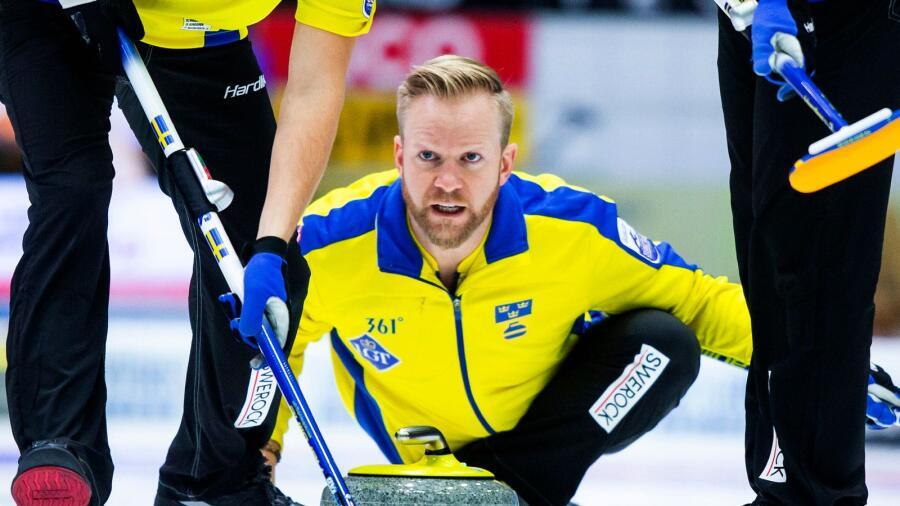 Det blev till slut silver för lag Niklas Edin i curling-EM i Tallinn b7f86294bd490