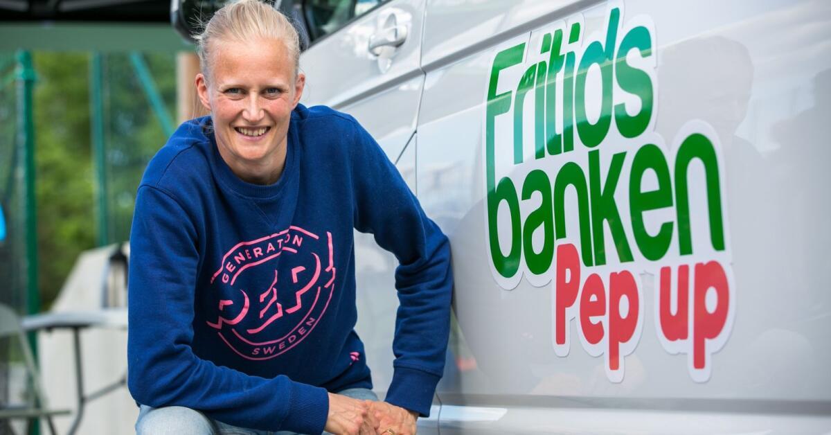 Fritidsbanken i mobilt samarbete med Generation Pep