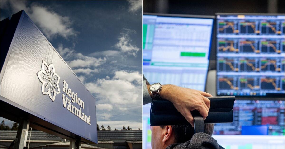 Corona: Region Värmland har förlorat 570 miljoner på börsraset