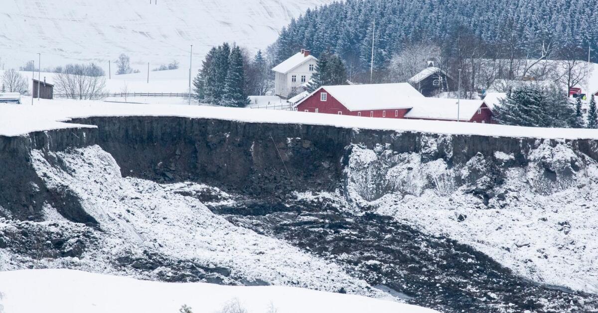 Här i Värmland finns den farliga kvickleran - kartläggs nu med helikopter