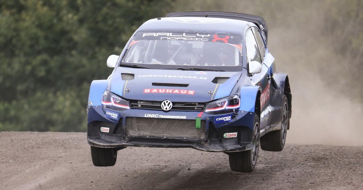 Kristofferssons guldsuccé – vann både SM och RallyX