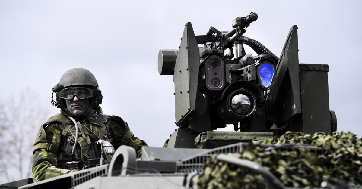 Kristinehamn kan få ny artilleriutbildning