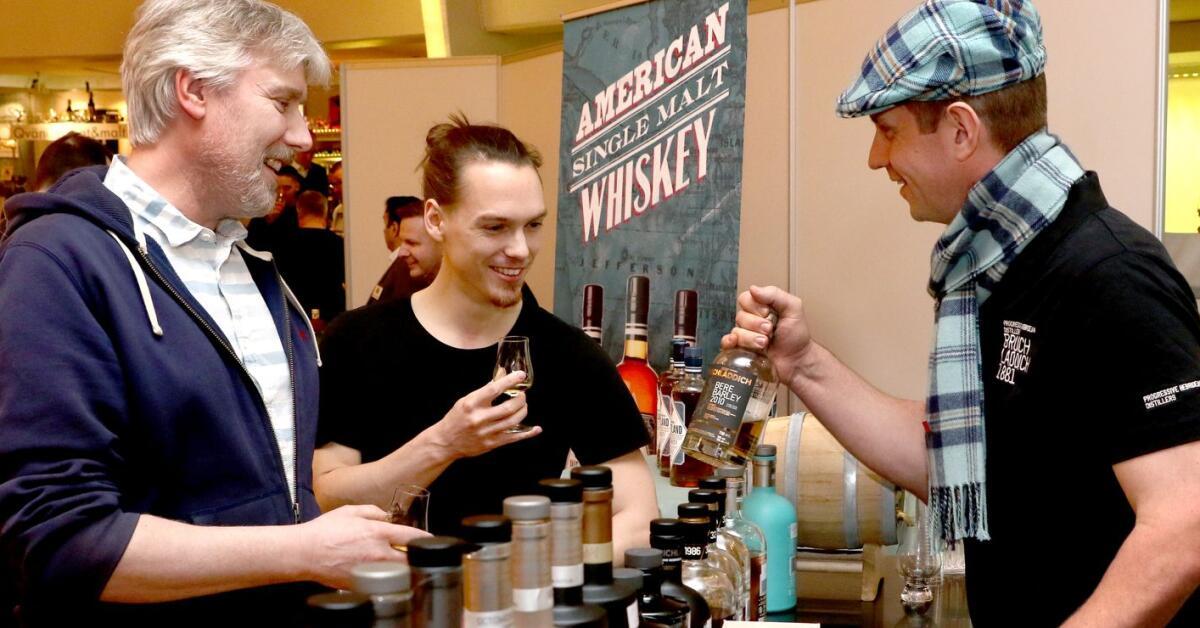 Stort intresse för öl- och whiskymässa på Valhall