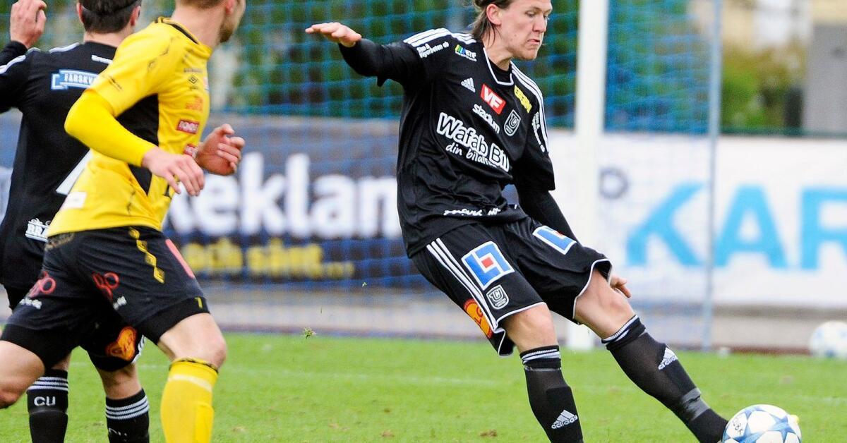 Stenbergs två första mål i Superettan