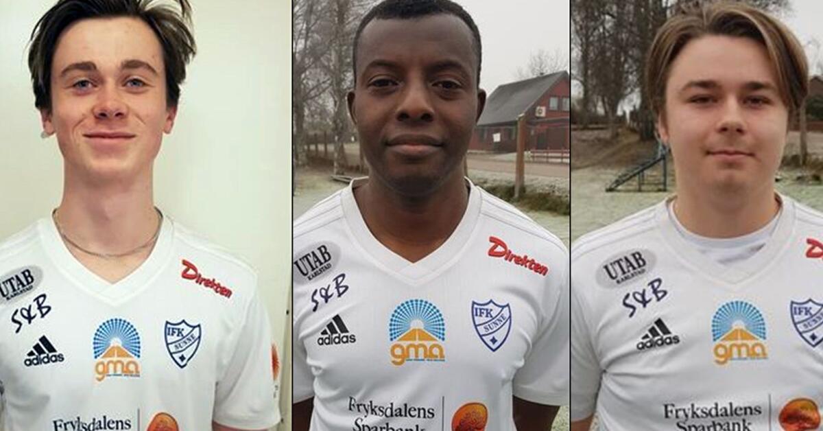 Tre nyförvärv till IFK Sunne - som nu har värvat en hel startelva