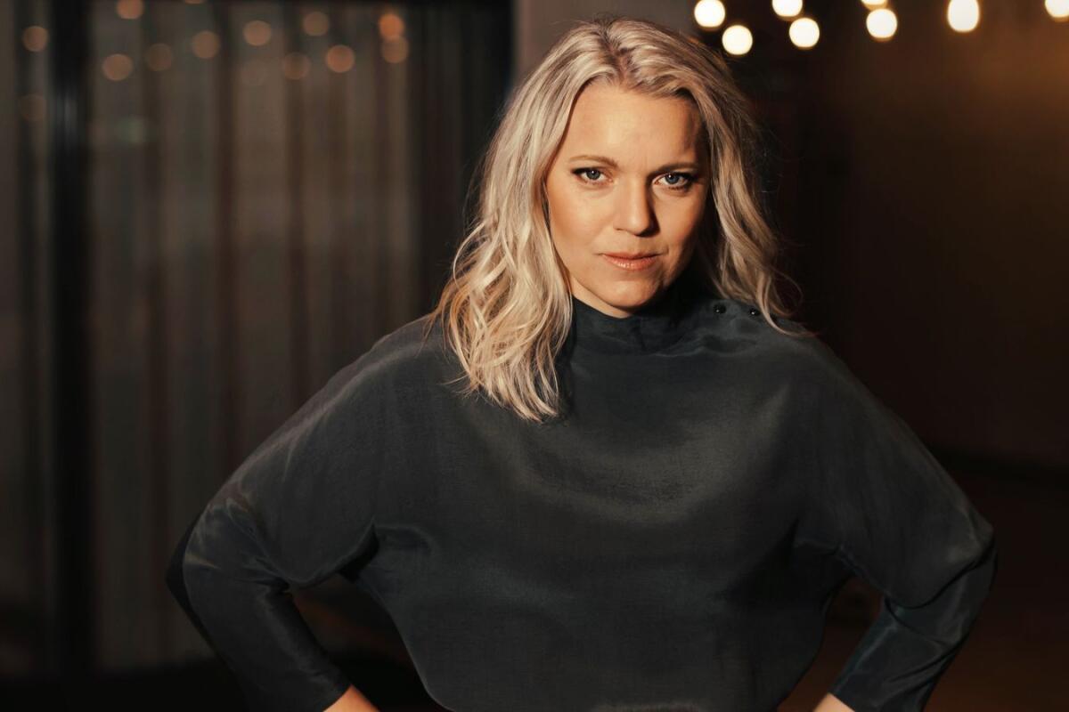 Carina Bergfeldt Om Egna Svt Showen Pa Basta Sandningstid Oerhort Nervost Skaraborgs Allehanda