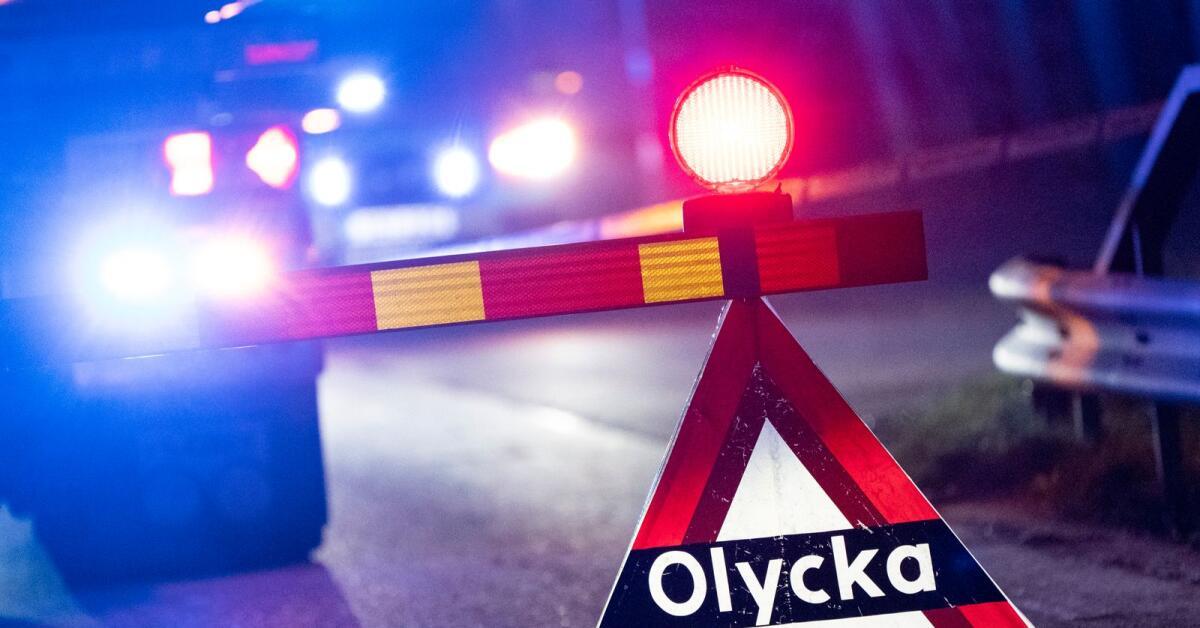 Trafikolycka på riksväg 62 - totalstopp och långa köer