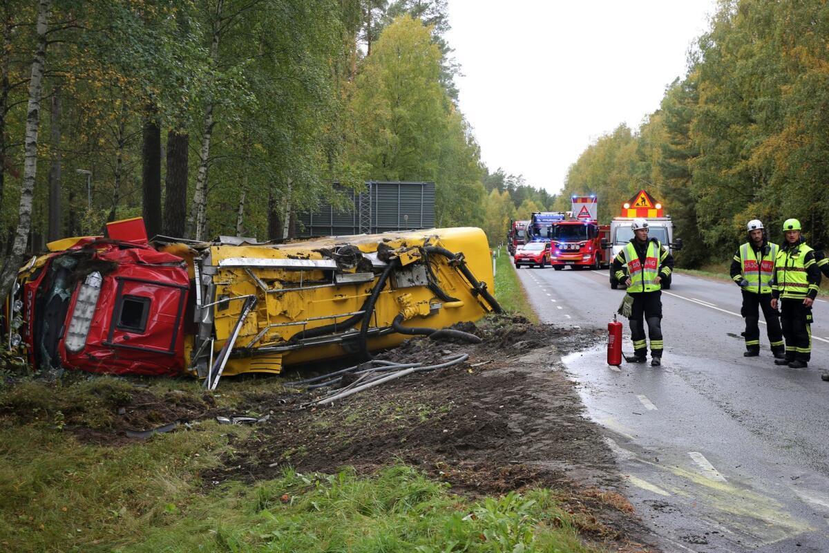 Vägen påverkas efter trafikolycka – Folkbladet