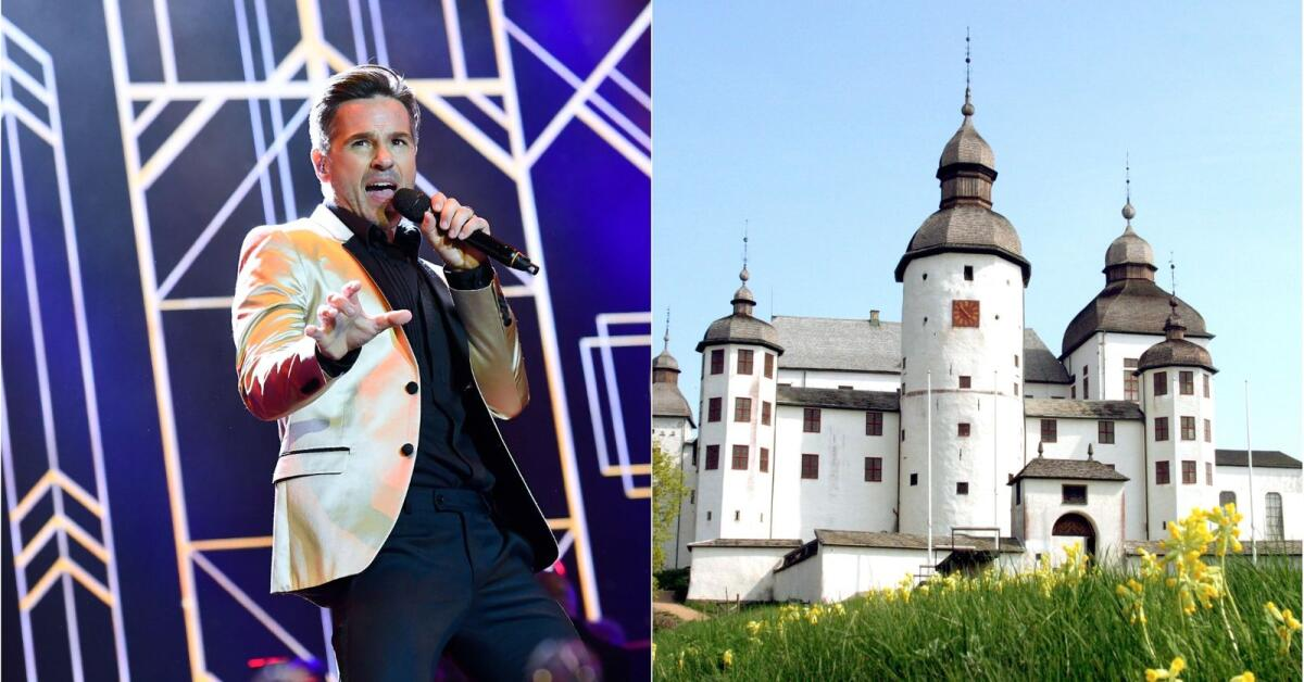"""Peter Jöback laddad för Läckö slott: """"Kul att komma tillbaka"""""""