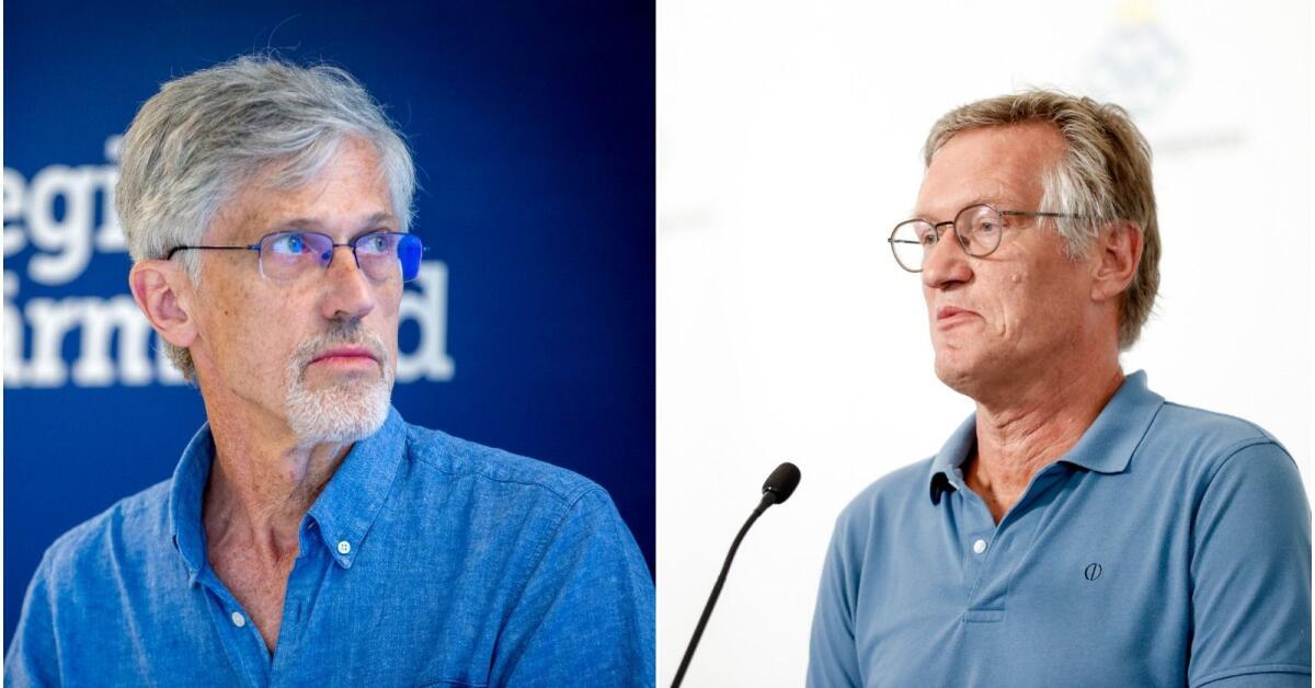 Hallen Delar Statsepidemiologen Anders Tegnells Oro For Varmland Risken Ar Storre Nwt
