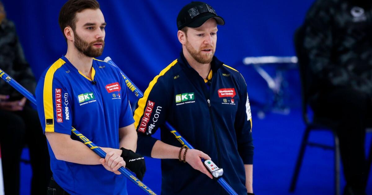 Curling-VM pausas efter covidfall