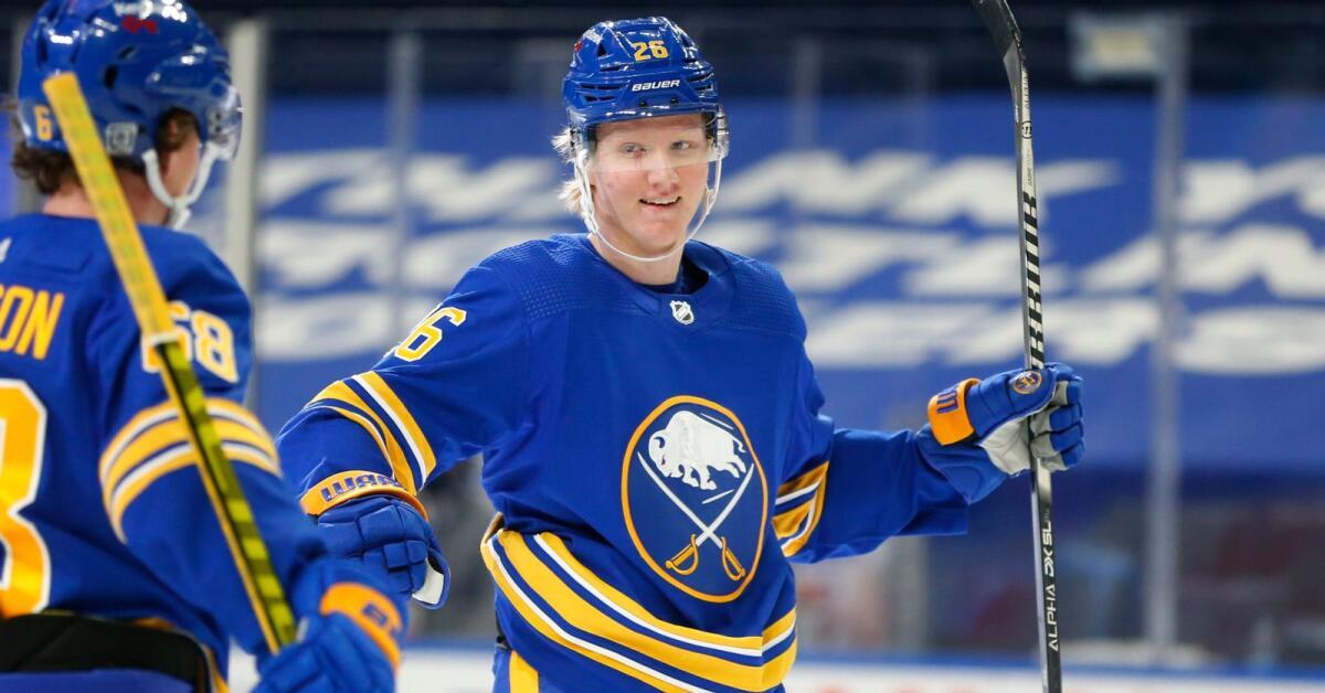 Rasmus Dahlin nådde en milstolpe i NHL