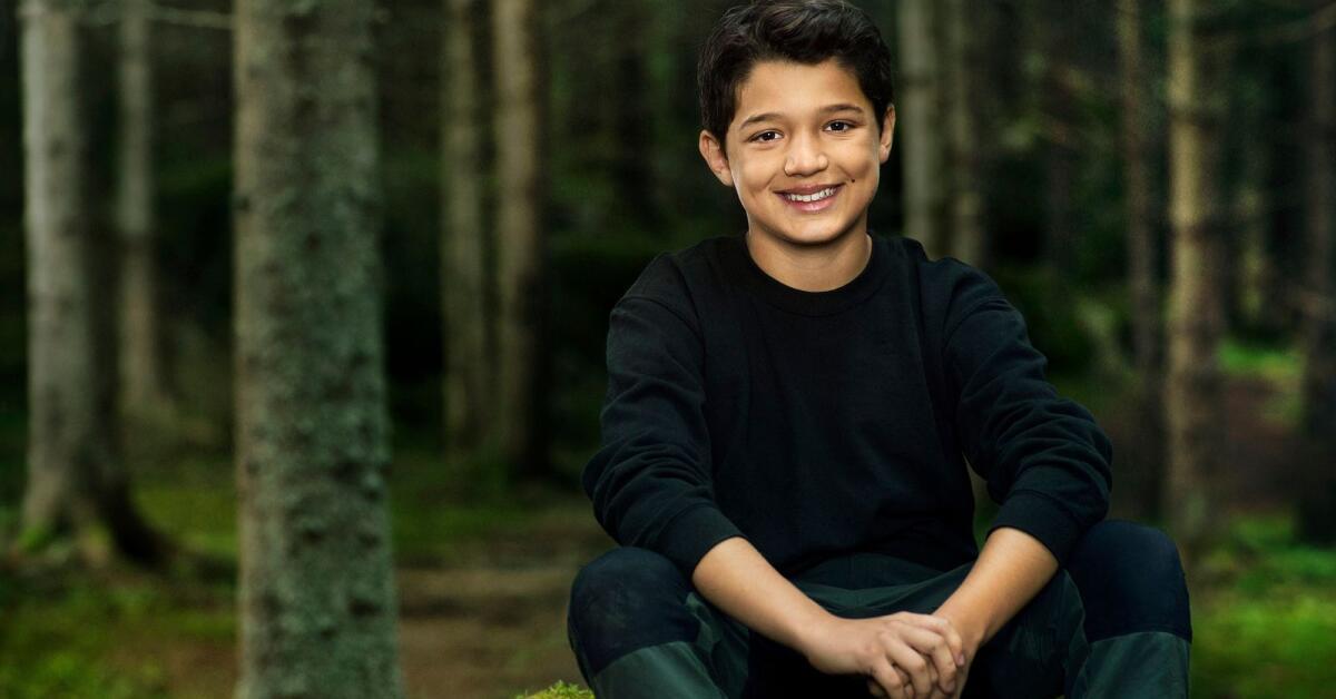 """""""Stasse"""", 11, från Hammarö i nya Wild Kids"""