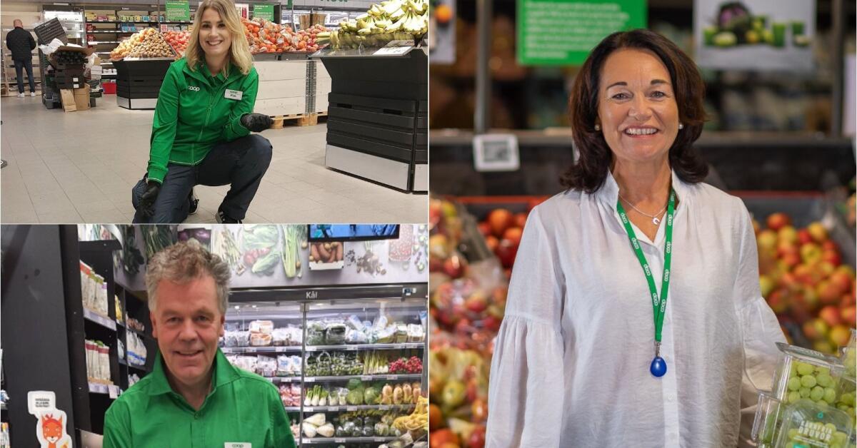 Coronasäker invigning av Coops nya butiker