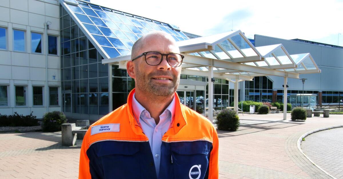 Nye Volvochefen känner stark framtidstro