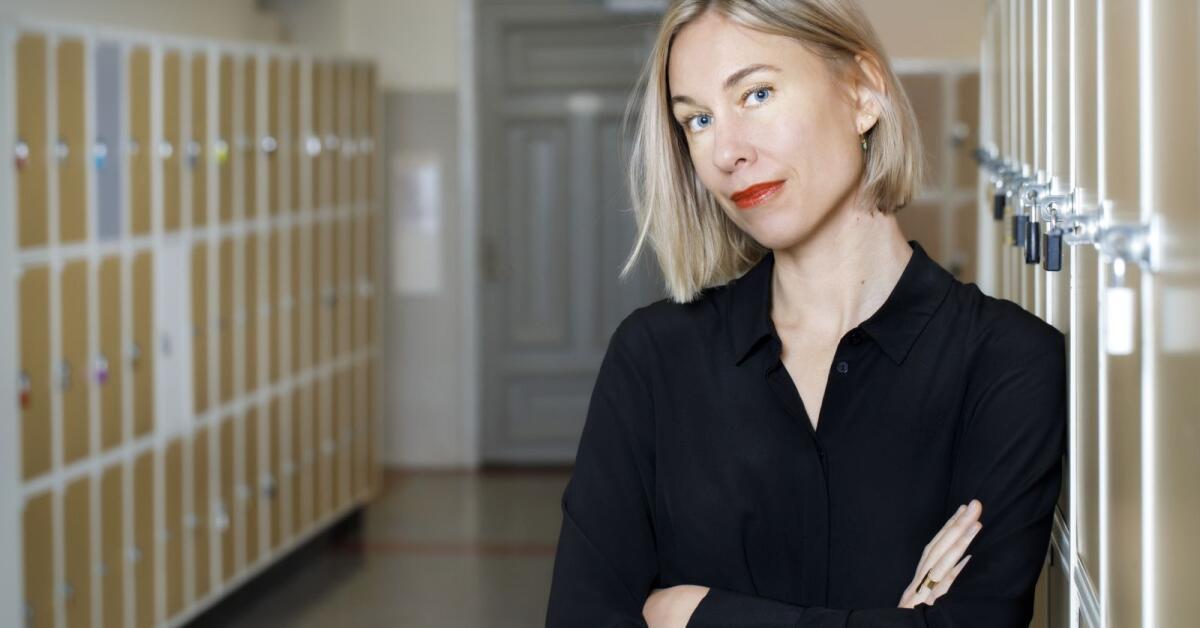 Karin från Hammarö bokdebuterar skolrysare
