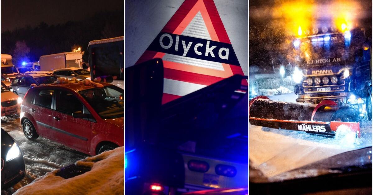 JUST NU: Följ trafikläget i Värmland