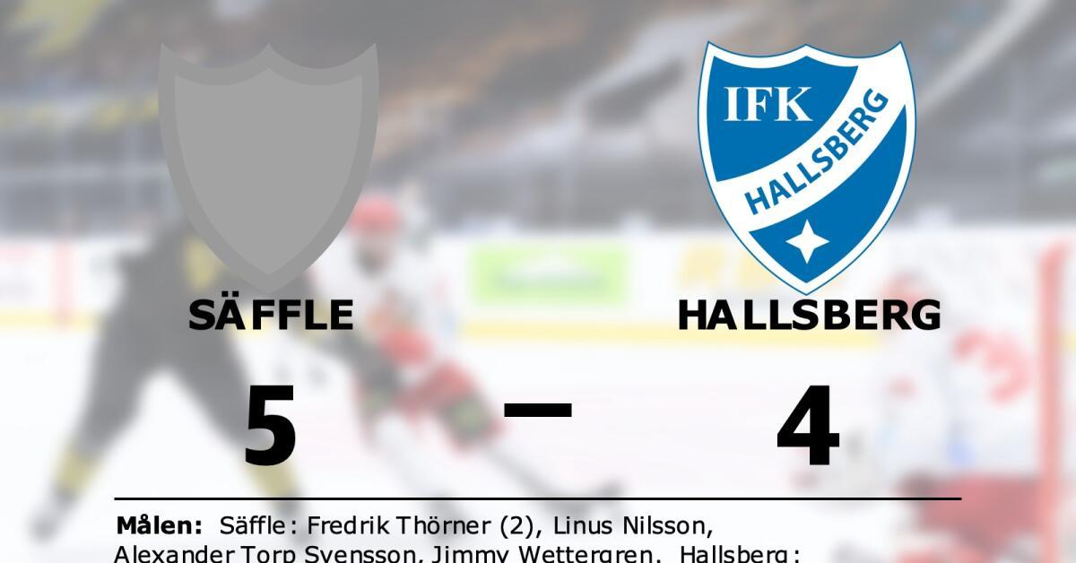 Säffle vann mot Hallsberg i förlängningen