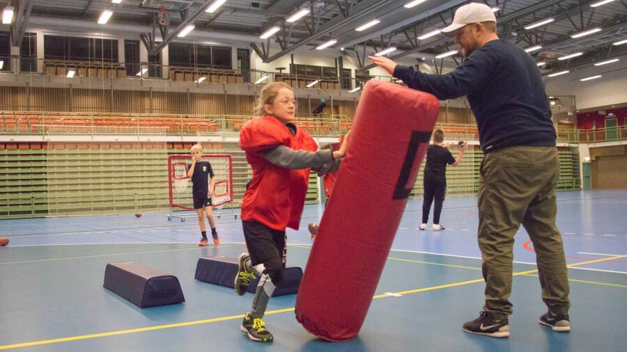 Fotboll och filmtillverkning inledde sportlovsveckan - Skaraborgs ... ab251fe97cab7