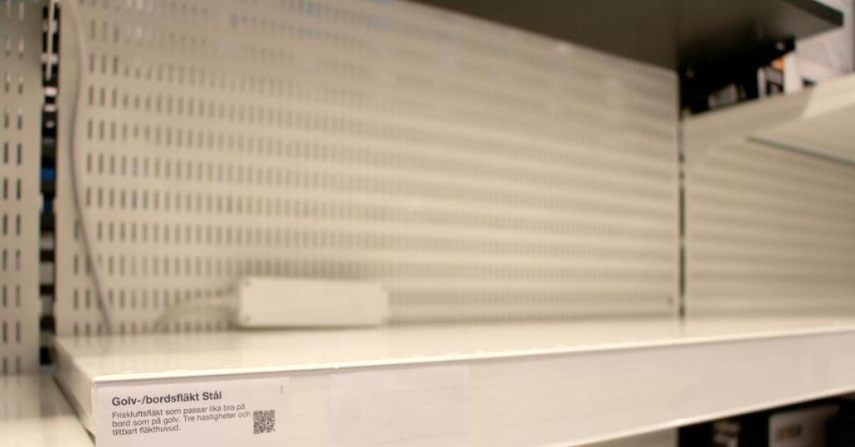 Unika Skövde tömt på fläktar och AC - Skaraborgs Allehanda DP-91