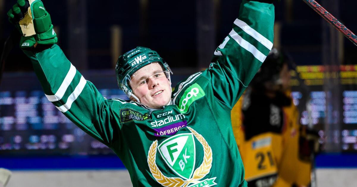 Stortalangen stannar i FBK – trots NHL-kontraktet