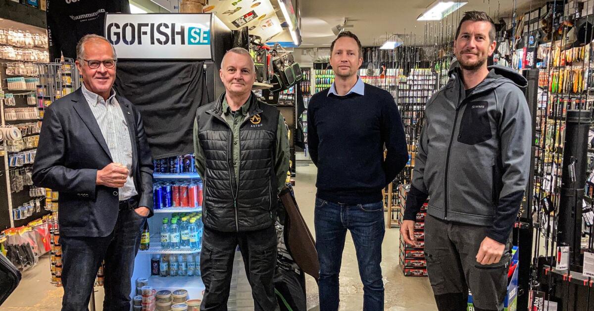 Astro Sweden tar över sportfiskebutik i Skövde