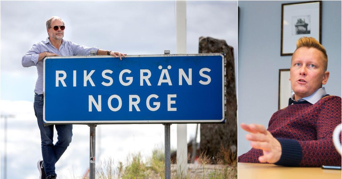 Oron ökar för att Norgegränsen stängs igen